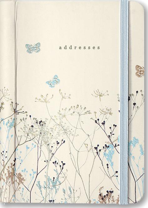 Butterflies Address Book