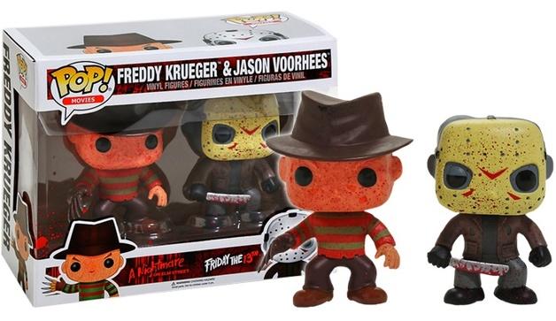 Freddy vs Jason - Freddy Krueger & Jason Vorhees (Bloody) Pop! Vinyl 2-Pack