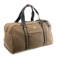 Troop London: Explorer Holdall - Brown w/Black Trim