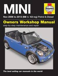 Haynes service and repair manuals products at mighty ape nz mini petrol diesel service and repair manual by martynn randall fandeluxe Choice Image