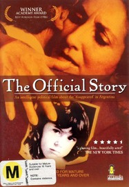 The Official Story on DVD image