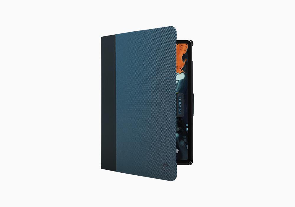 "Cygnett: TekView with Apple pencil holder for iPad Pro 11"" Navy/Blue image"