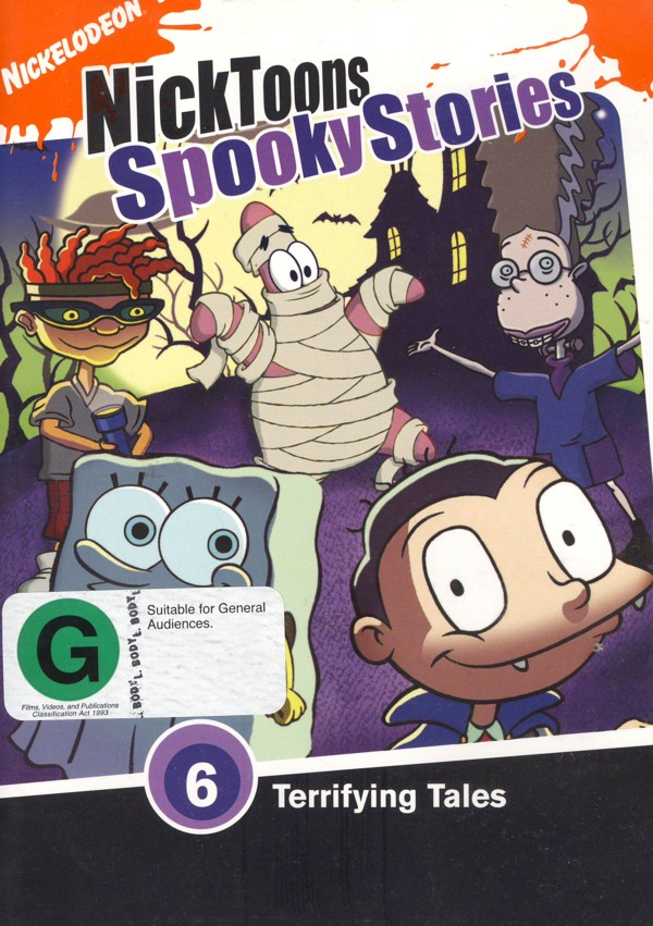 Nicktoons: Spooky Stories on DVD image