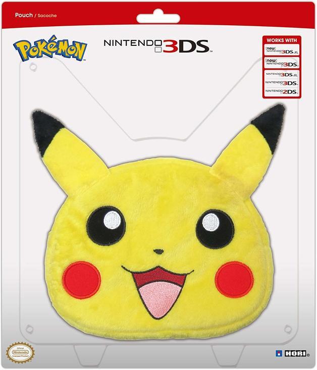 HORI Pokemon Universal Plush Pouch for 3DS