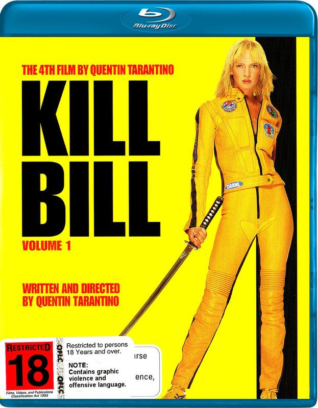 Kill Bill - Volume 1 on Blu-ray