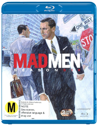 Mad Men - The Complete Sixth Season on Blu-ray