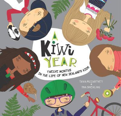 A Kiwi Year by Tania McCartney image