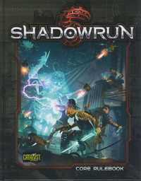 Shadowrun RPG: 5th Edition Core Rulebook Hardcover