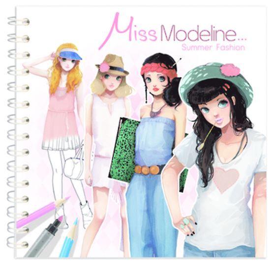 Miss Modeline Notebook - Summer Fashion
