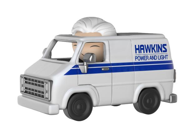 Stranger Things: Brenner & Hawkins Utility Van Dorbz Ridez Vinyl Figure
