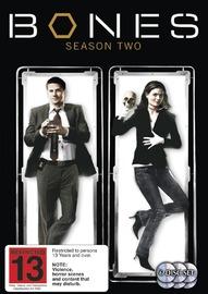 Bones - Season 2 (6 Disc Set) on DVD