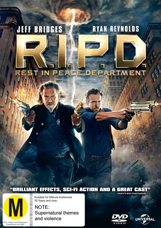 R.I.P.D. on DVD