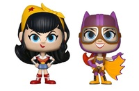 DC Bombshells: Wonder Woman + Batgirl - Vynl. Figure 2-Pack