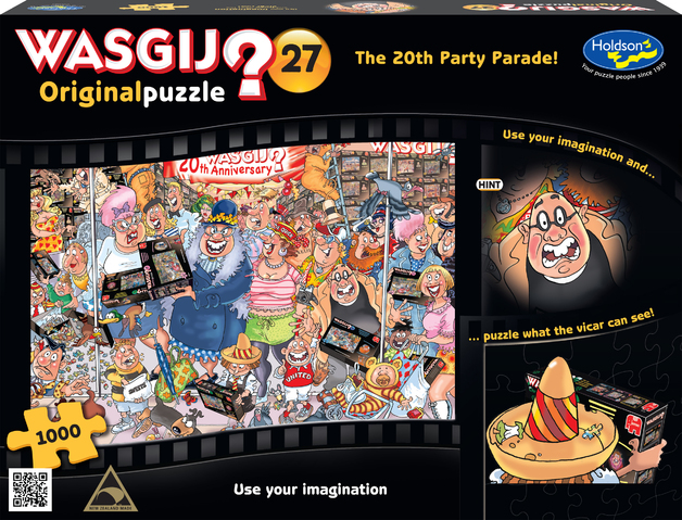 Wasgij: Original 1000 Piece Puzzle - The 20th Party Parade (#27)