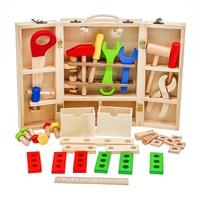 Wooden Pretend Tool Box