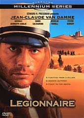 Legionnaire on DVD