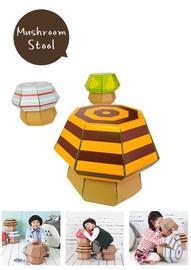 Funny Paper - Mushroom Stool (Honey Bee)