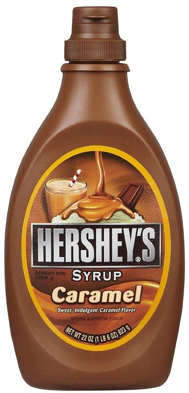 Hershey's Caramel Syrup Bottle - 623g