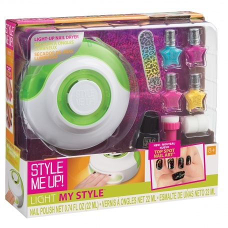 Light My Style Dryer & Top Spot Nail Art Set