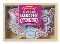 Melissa & Doug: Wooden Princess Magnets
