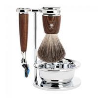 Muhle Rytmo Fusion Shaving Set - Ash