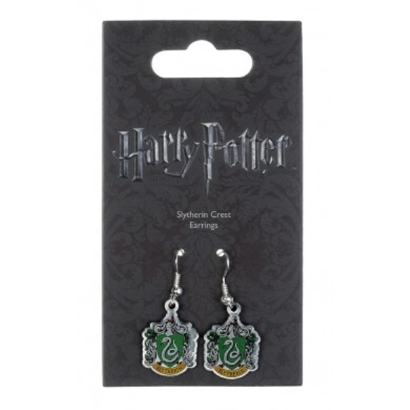 Harry Potter: Slytherin Crest Earrings image