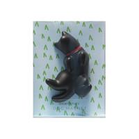 Short Story: Dog Magnet - Lazy (Black)