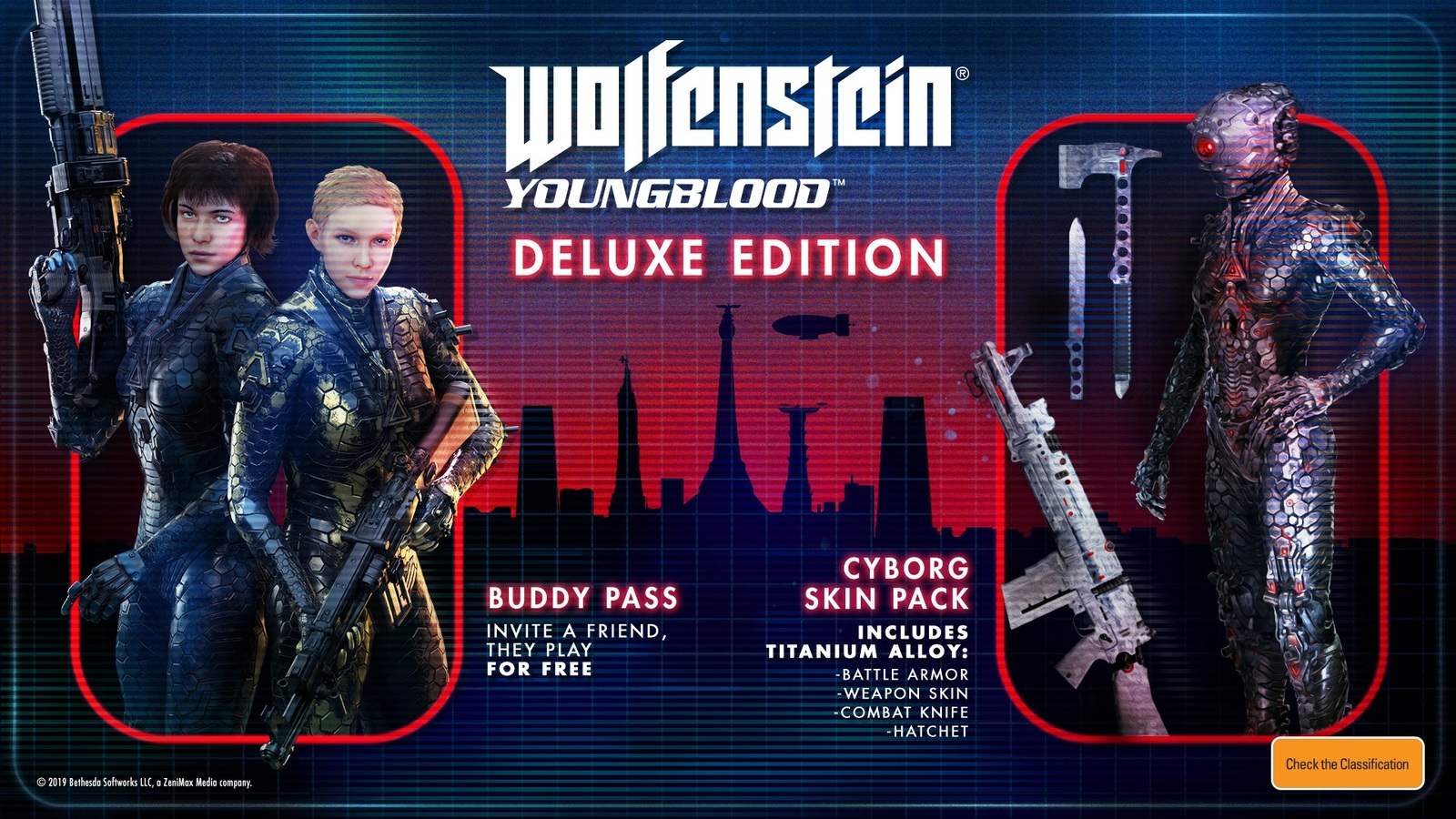 Wolfenstein Youngblood Deluxe Edition (code in box) for Switch image