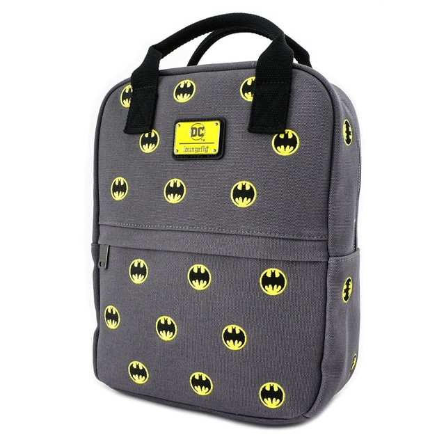 Loungefly: Batman Embroidered Backpack - Logo