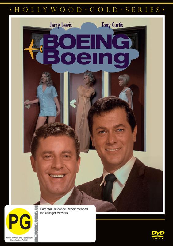 Boeing Boeing on DVD
