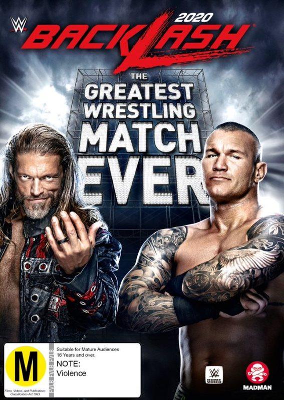 WWE: Backlash 2020 on DVD
