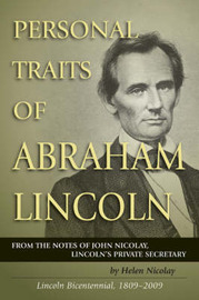 Personal Traits of Abraham Lincoln by Helen Nicolay image