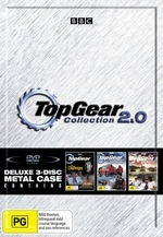 Top Gear Collection 2.0 (Challenges / US Special / Polar Special) (3 Disc Metal Case) on DVD