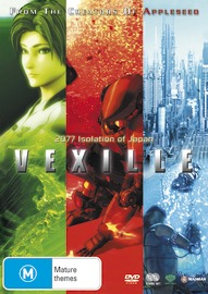 Vexille (2 Disc Set) on DVD