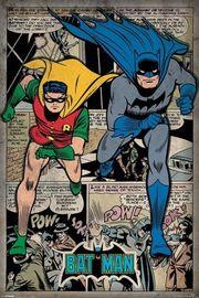 Batman Comic Montage Wall Poster (230)
