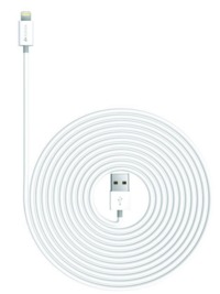 Kanex: Charge and Sync Cable with Lightning Connector 9FT - White