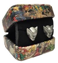 Marvel: Wolverine Head - 3-D Cufflinks