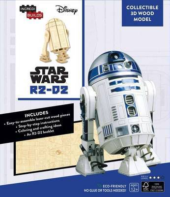 Incredibuilds: Star Wars: R2-D2 3D Wood Model by Michael Kogge