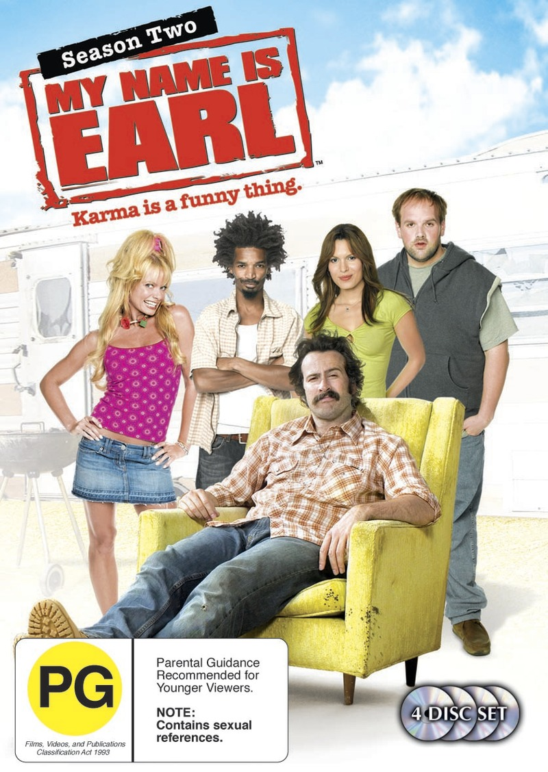 My Name Is Earl - Season 2 (4 Disc Set) on DVD image