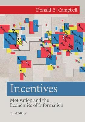 Incentives by Donald E. Campbell image