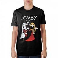 RWBY: Group - Black T-Shirt (Large)