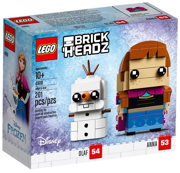 LEGO Brickheadz: Anna & Olaf (41618)