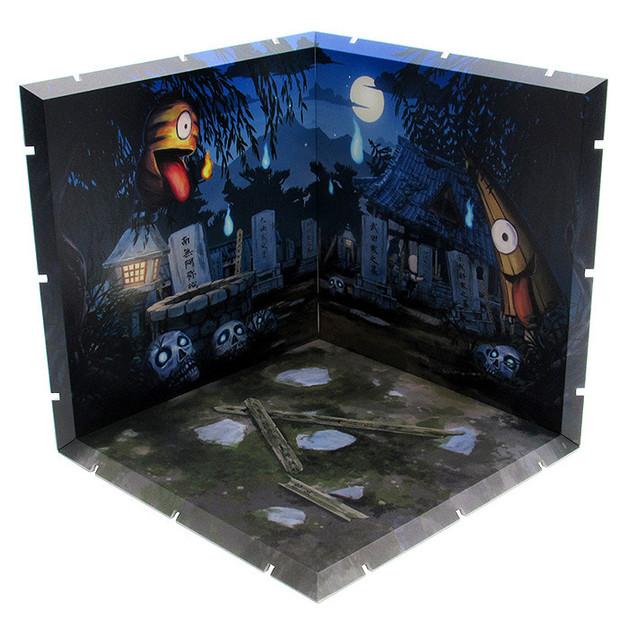 Dioramansion 150: Graveyard - Figure Display Base