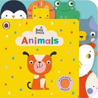 Baby Touch: Animals Tab Book by Ladybird