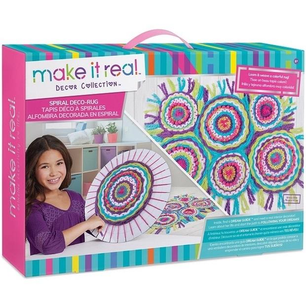Make It Real: Spiral Deco Rug