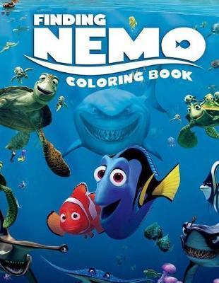 Finding Nemo Coloring Book | Rose Sapana Book | In-Stock ...
