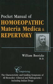 Pocket Manual of Homeopathic Materia Medica & Repertory by William Boericke image