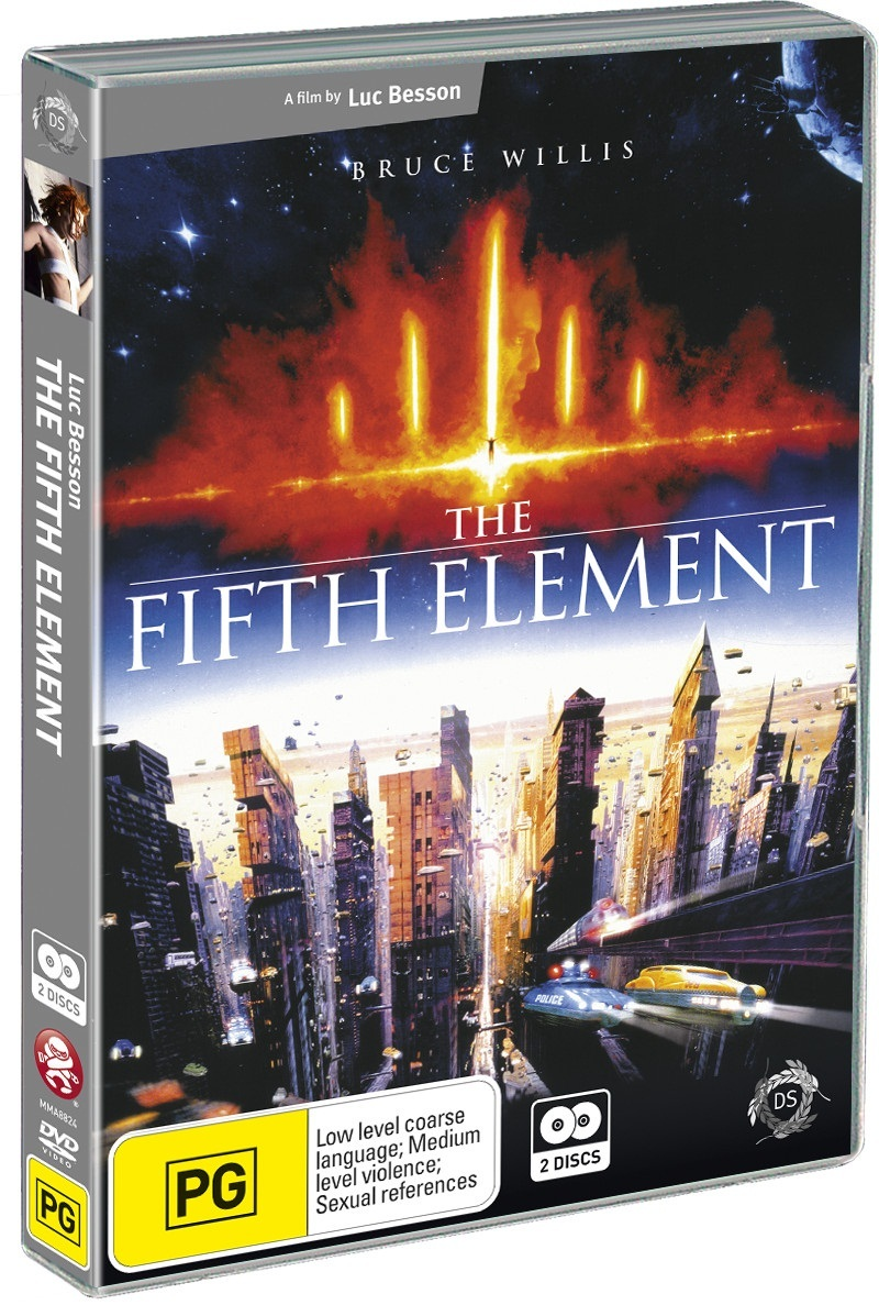 The Fifth Element (2 Disc Set) on DVD image