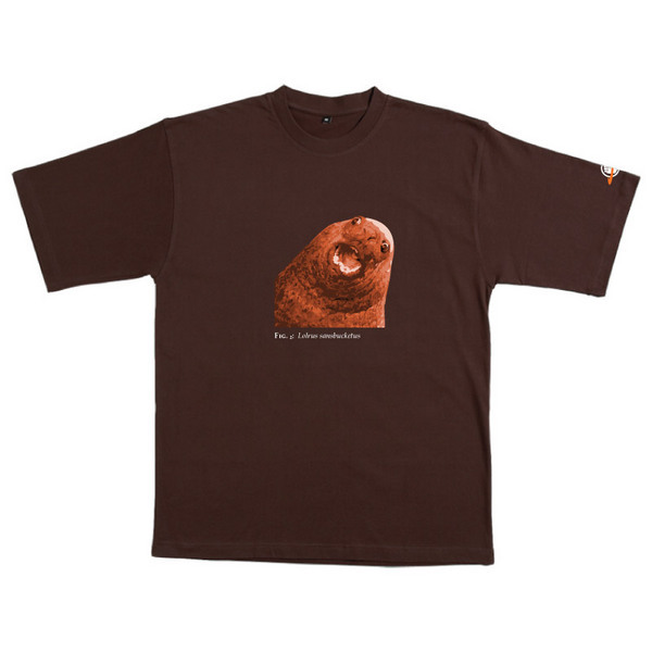 Lolrus Sansbucketus - Tshirt (Chocolate) for