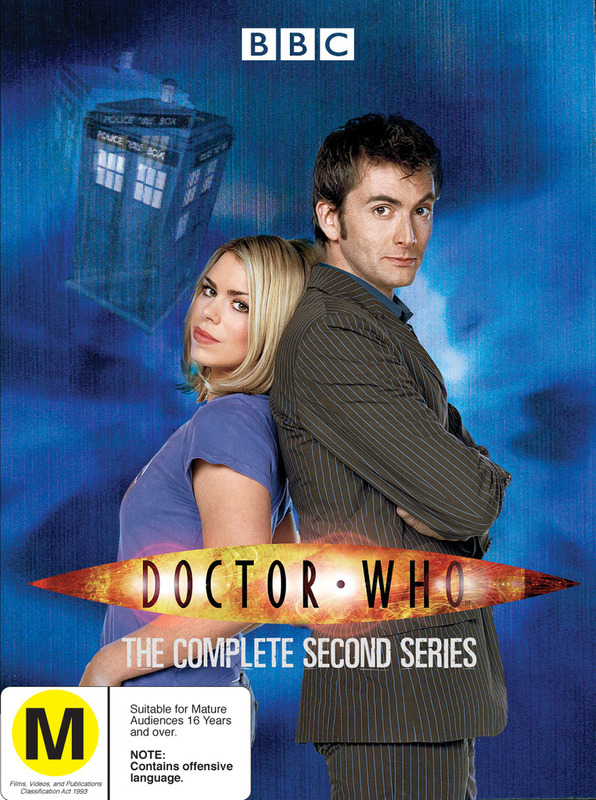 Doctor Who (2006) - Complete Series 2 (6 Disc Box Set) on DVD
